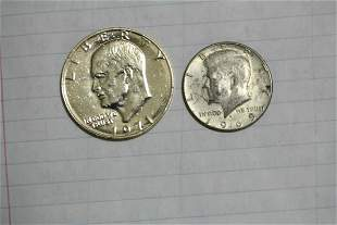 Lot of Two Coins