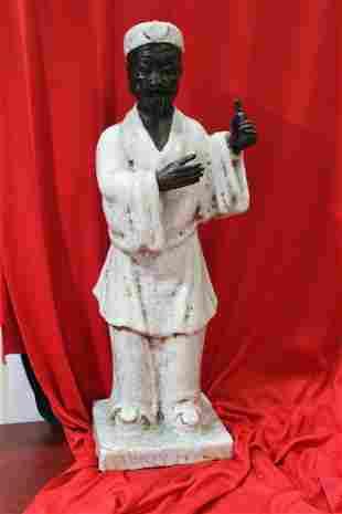 An Italian Terracota Black Man