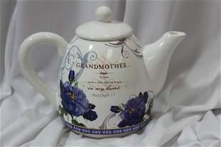 A Decorative Teapot
