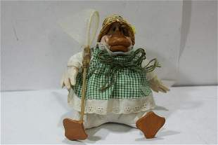 A Duck Figurine