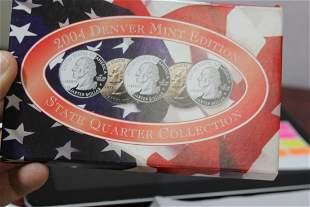 2004 Denver Mint Quarter Set