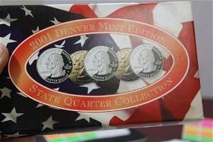 2001 Denver Mint Quarter Set