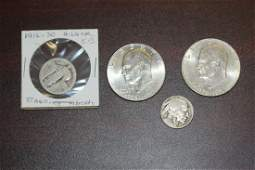 Lot of 4 Coins