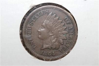 A Beautiful 1864 Bronze Indian Head Cent