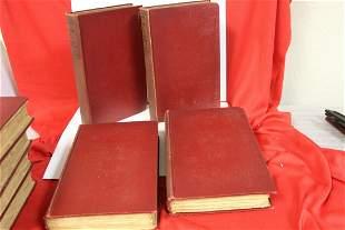 Hardcover Book Set of 18: Works of Victor Hugo