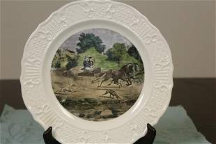 A Currier and Ives Plate