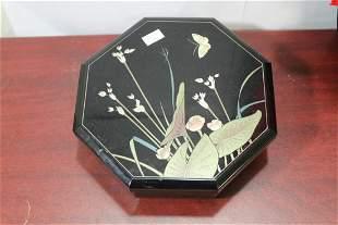 An Oriental Lacquer Music Box