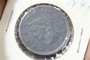 An 1841 Large Cent