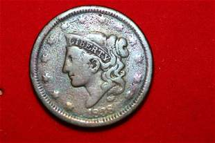 A Rare Toned 1838 Large Cent