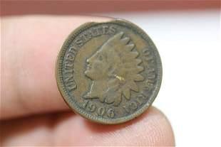 A Rare Mint Error Clip Indian Head Cent
