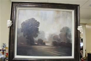 A Framed Decorative Print