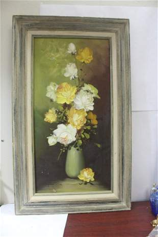 A Signed Oil on Canvas by Robert Cox