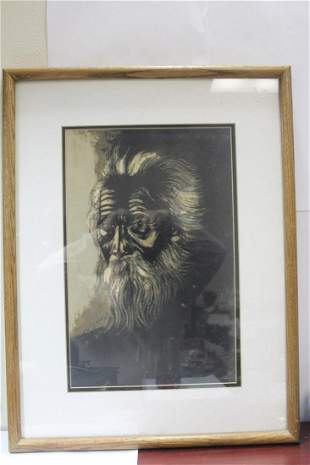 A Signed Old Man