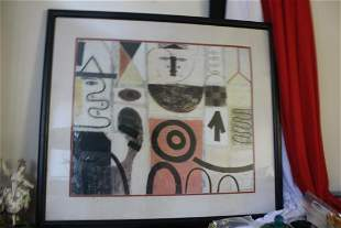 A Plate-Signed Gottlieb Print or lithograph