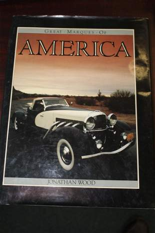 A Hardcover Book: Great Marques of America
