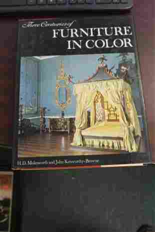 Hardcover Book: Three Centuries of Furniture in Color