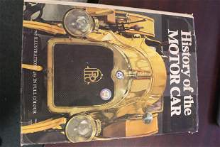 Hardcover Book: History of the Motor Car