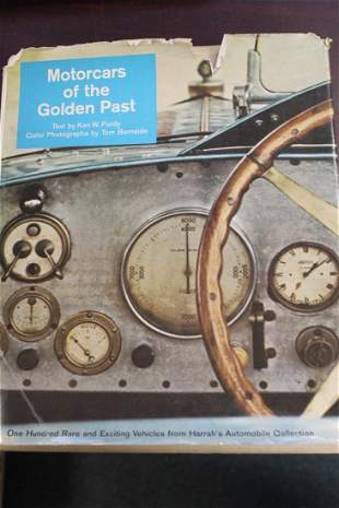Hardcover Book: Motorcars of the Golden Past