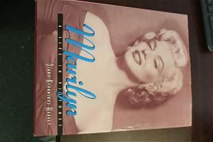 Hardcover Book on Marilyn Monroe