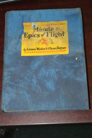 Hardcover Book: Minute Epics of Flight