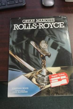 Hardcover Book: Rolls Royce