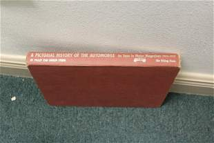 Hardcover Book on History of Automobile
