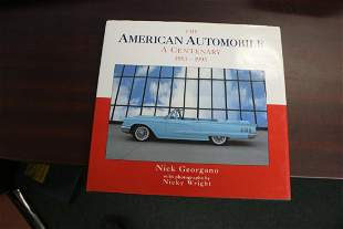 Hardcover Book: The American Automobile A Centenary