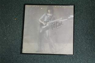 A Signed Jeff Beck Album or Album Cover