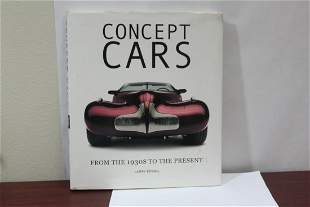 Hardcover Book: Concept Cars
