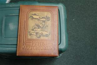 A Leather Bound Book: The Automobile