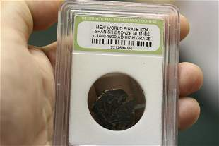 A Slabbed Spanish Bronze Nummis