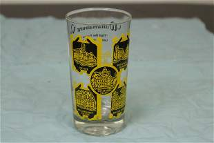 A Retro Era Glass Tumbler