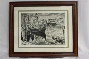 Original Etching - Limited Edition by Joseph Marguiles
