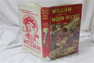 William and the Moon Rocket - Hardcover Book