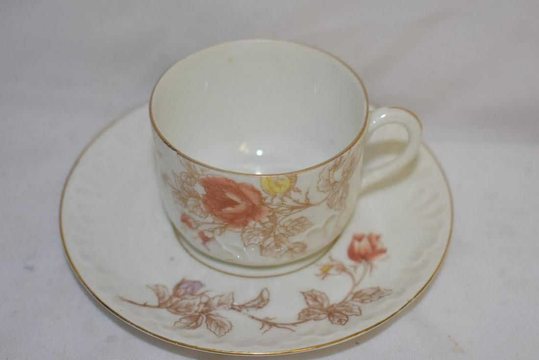 An Imperial Xarlsbad China Cup and Saucer