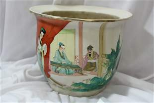 A Chinese Plant Pot