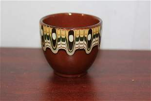 A Bulgarian Pottery Cup