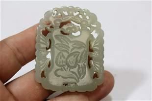 A White Jade Pendant