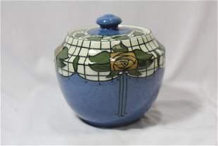 A Bursley Ware, England Pottery Jar