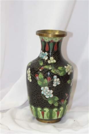 An Antique Chinese Cloisonne Vase