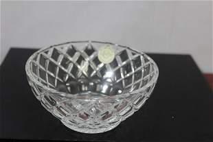 A Lenox Crystal Bowl