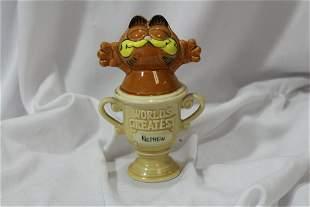 Enesco Ceramic Garfield Figurine