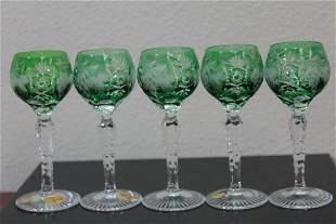 A Bohemian Nachtmann Small Goblets