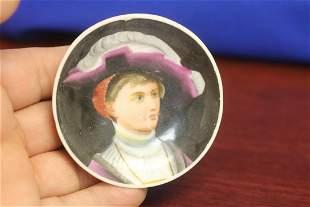 A Miniature Portrait Plate