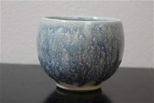 A Signed Pottery Bowl