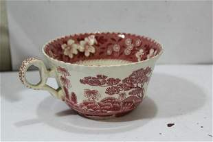 An Antique Copeland Spode Transferware Cup