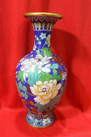 A Chinese Cloisonne Vase