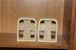 A Pair of 2006 Zondervan Inspiro Gift Group Ornaments