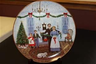 Collectors Plate By Joan Landis