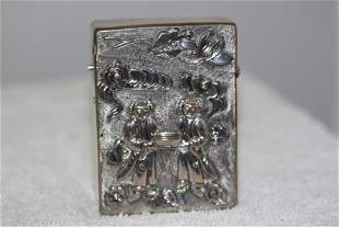 Antique Early 20th Cent Chinese Sterling Silver Export